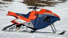 Off limits: Snow Hawk la vera moto-slitta - Immagine: 15
