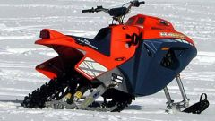 Off limits: Snow Hawk la vera moto-slitta - Immagine: 16