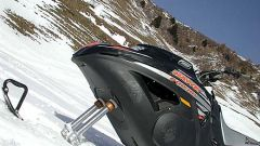 Off limits: Snow Hawk la vera moto-slitta - Immagine: 27