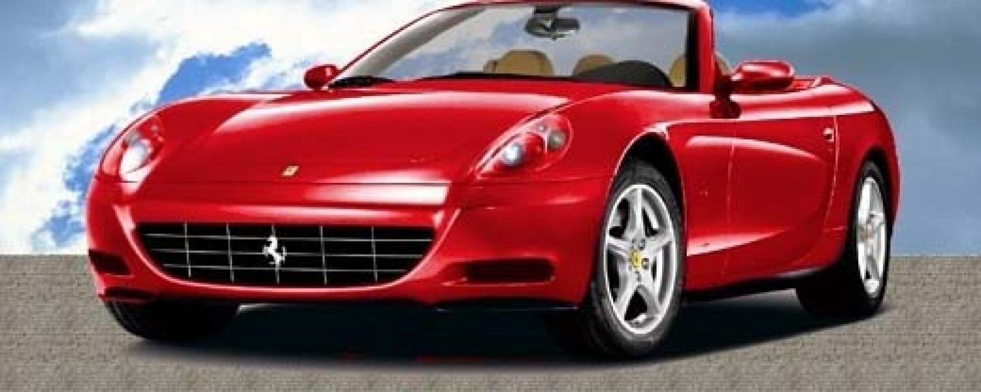 E' la nuova Ferrari 612 Scaglietti Cabrio?