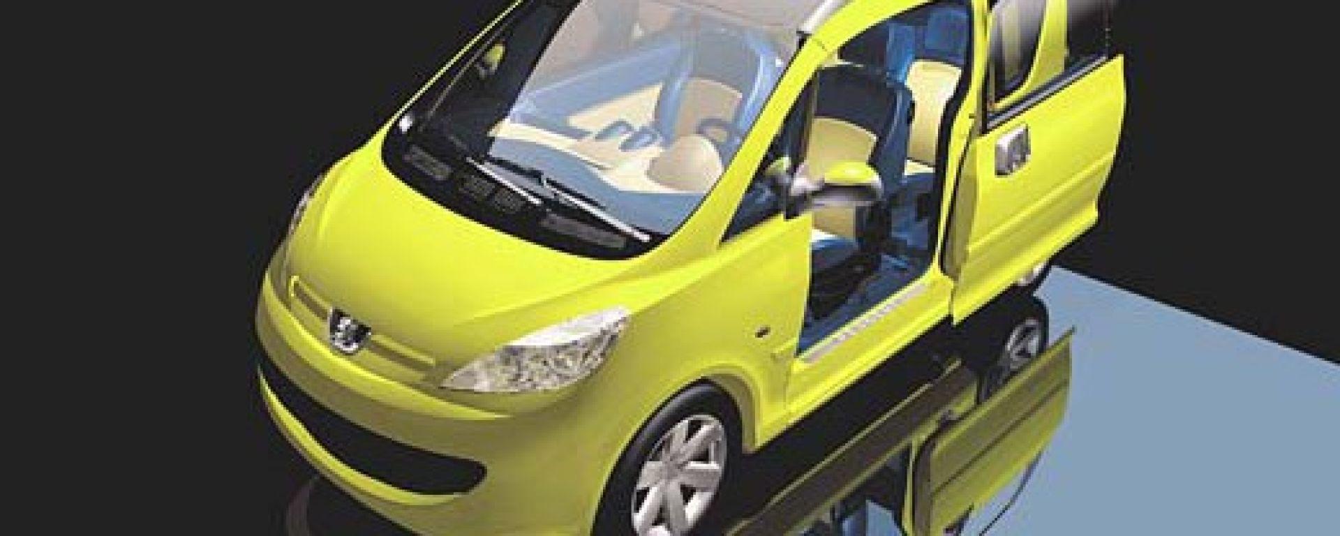 Anteprima:Peugeot 107