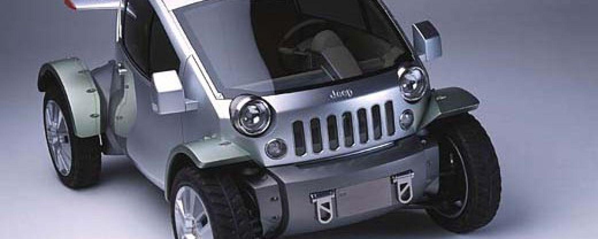 Anteprima: Jeep Treo concept