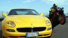 Maserati Coupè GT vs Aprilia RSV Nera - Immagine: 20