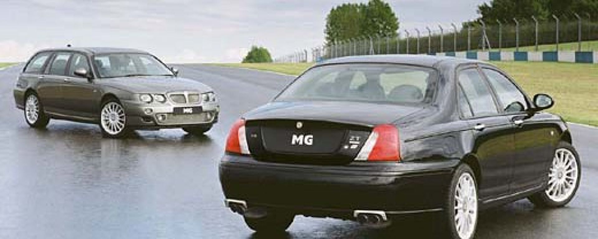 Muscle car: MG ZT (ZT-T) 260 V8