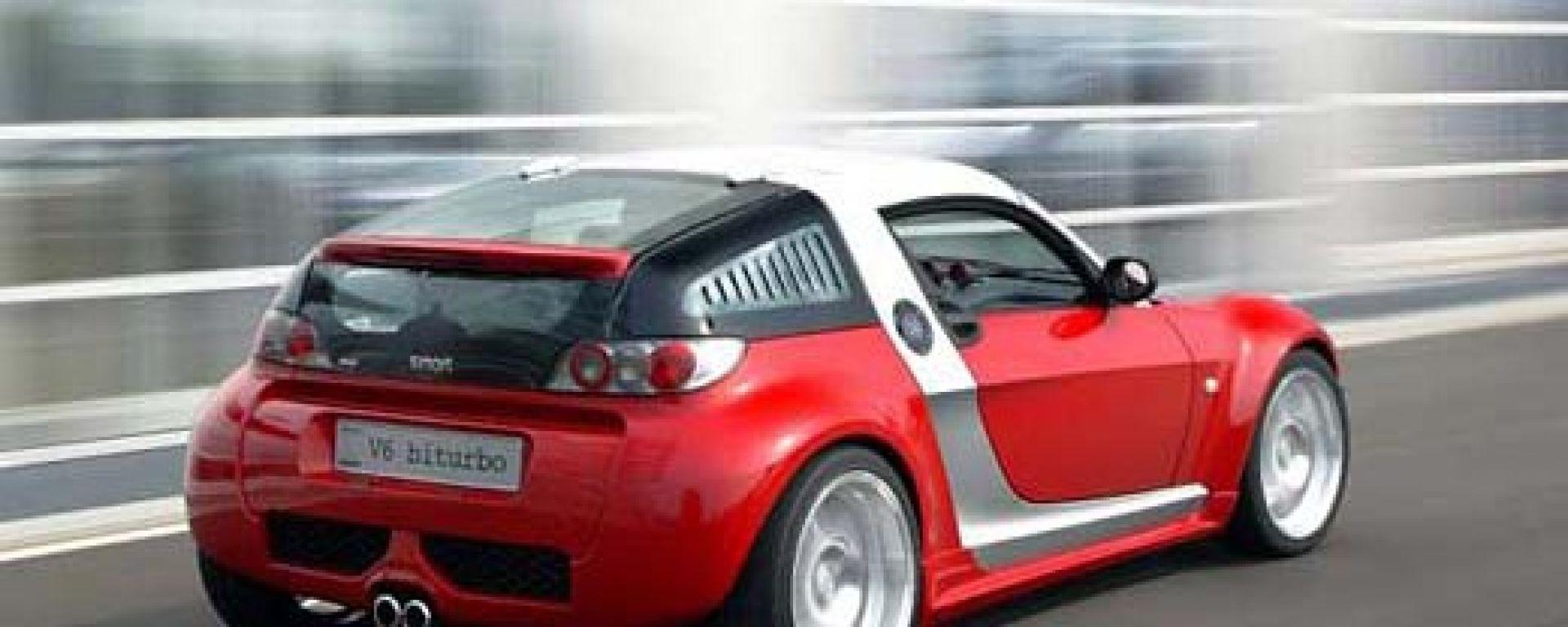 Smart Roadster Coup 233 V6 Bi Turbo Motorbox