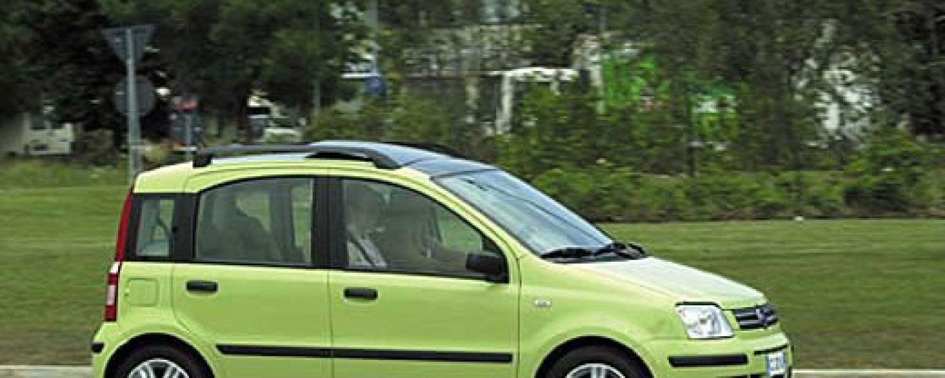 Su strada con: Fiat Nuova Panda