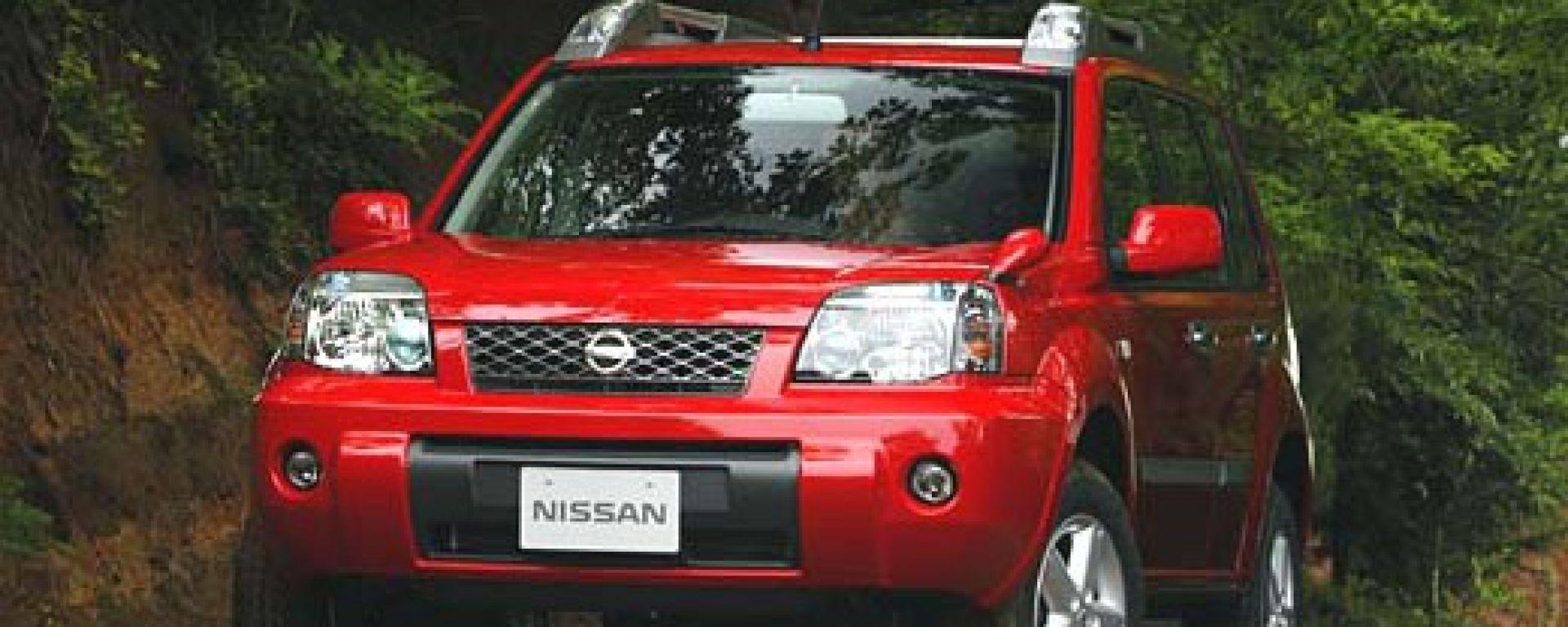 Anteprima:Nissan X-Trail 2003