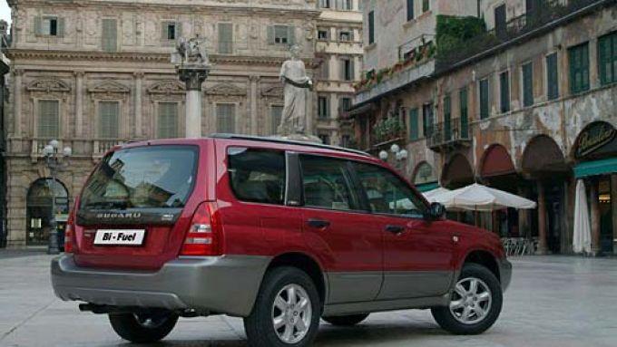 Immagine 19: Subaru Impreza e Forester Bi-Fuel