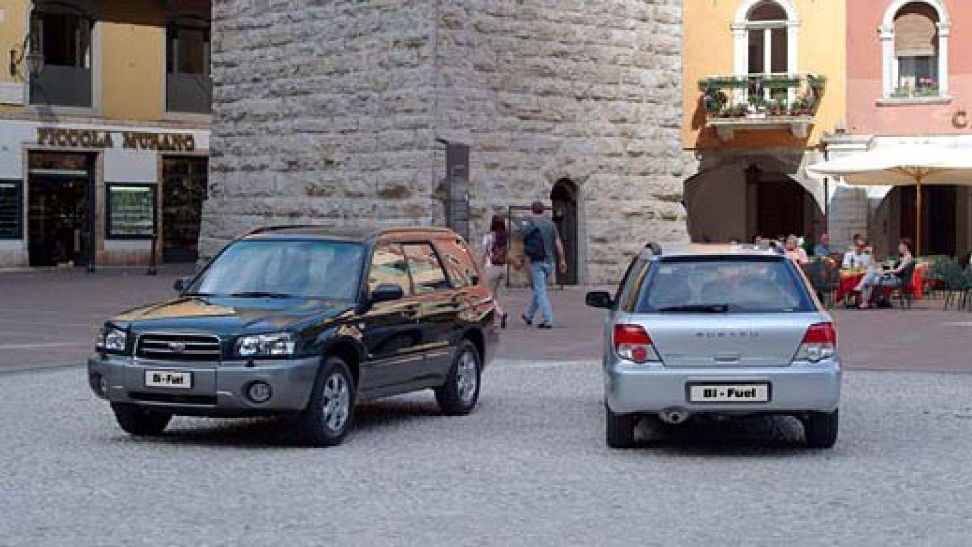 Immagine 22: Subaru Impreza e Forester Bi-Fuel