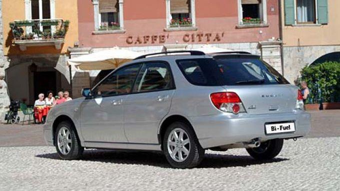 Immagine 24: Subaru Impreza e Forester Bi-Fuel