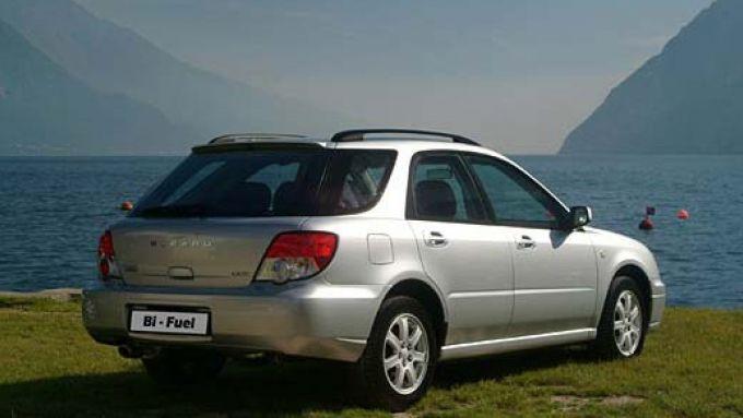 Immagine 25: Subaru Impreza e Forester Bi-Fuel