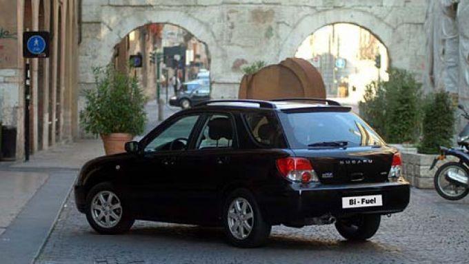 Immagine 27: Subaru Impreza e Forester Bi-Fuel
