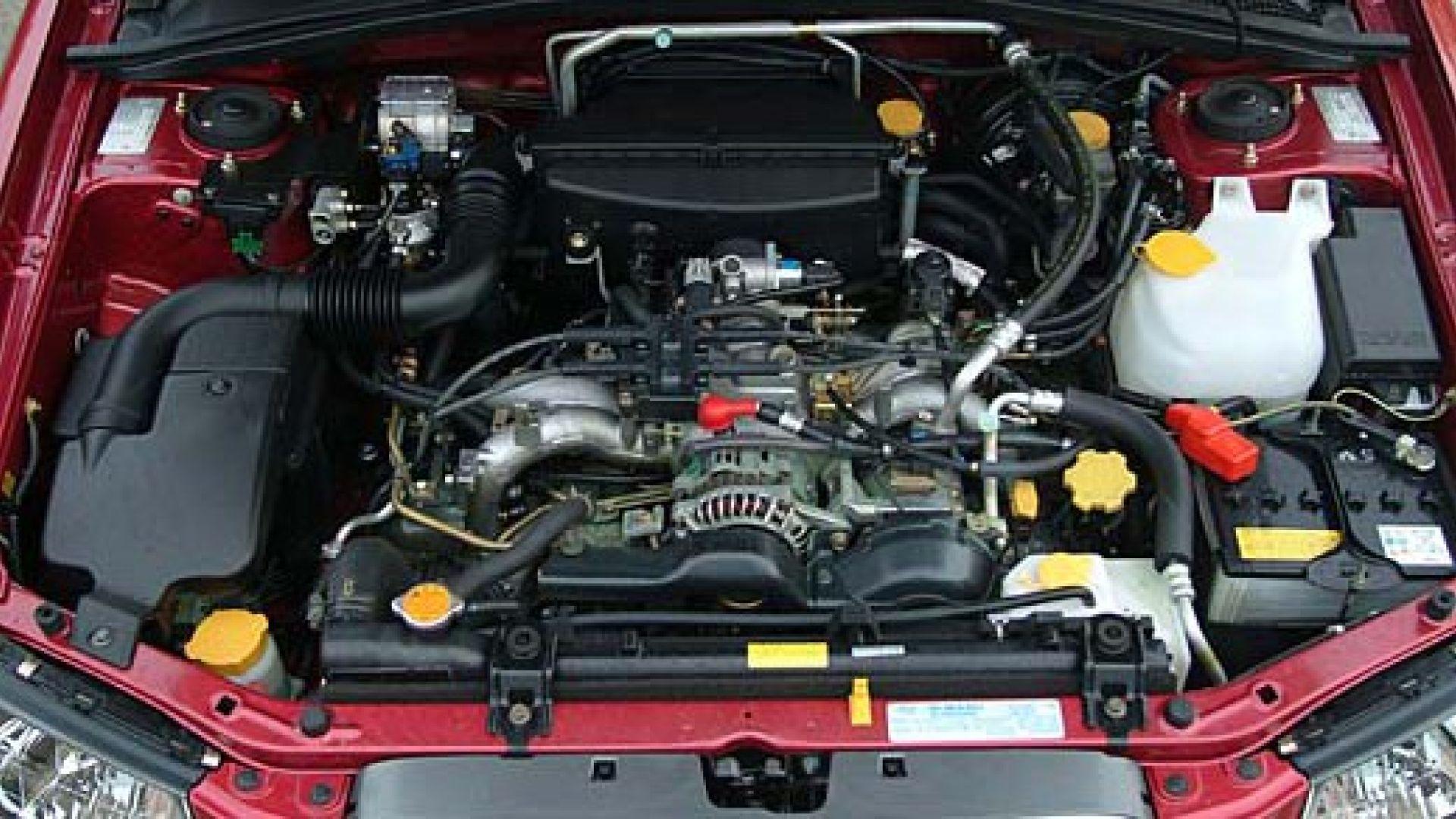 Immagine 14: Subaru Impreza e Forester Bi-Fuel