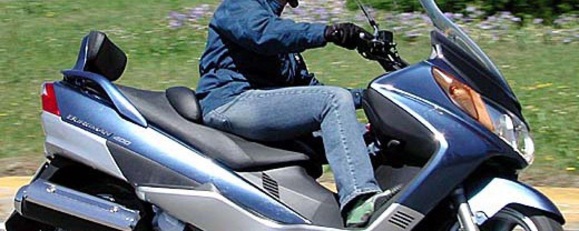 Suzuki Burgman 400 ie