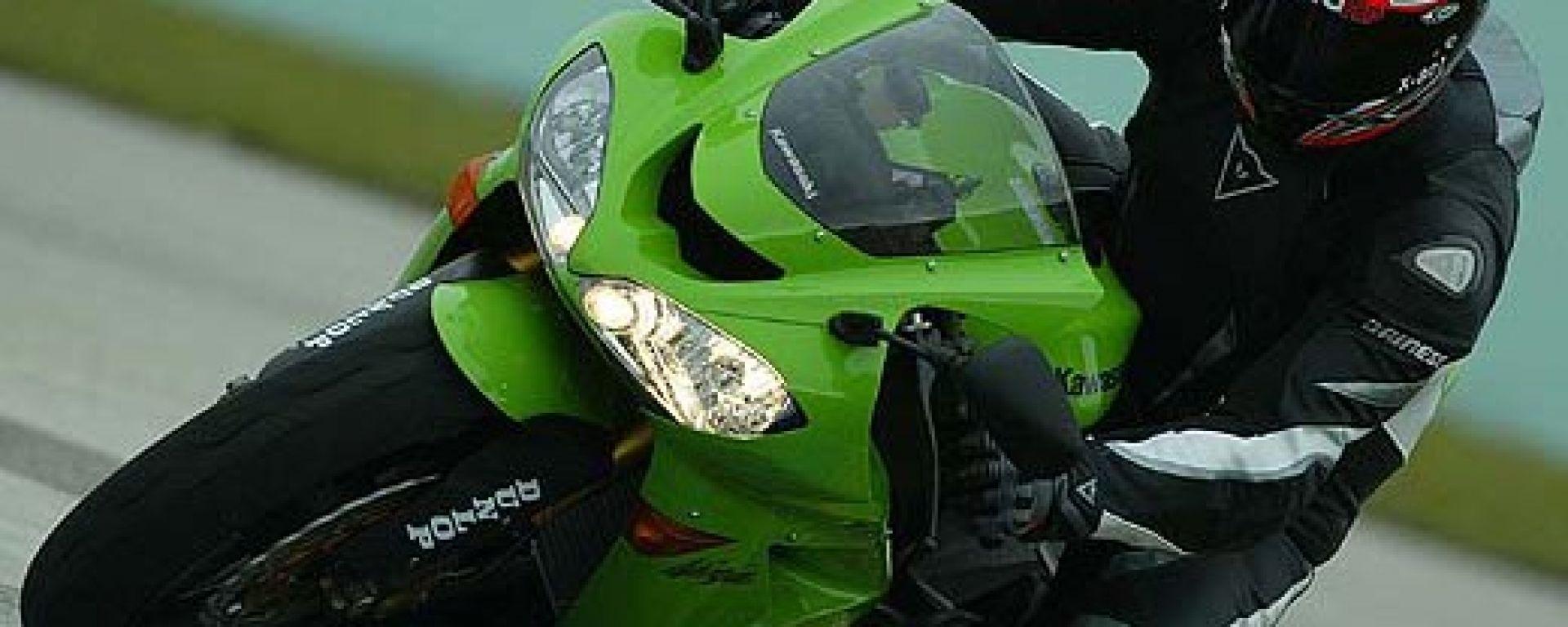 Honda CBR 1000 RR vs Kawasaki ZX-10R: primo confronto