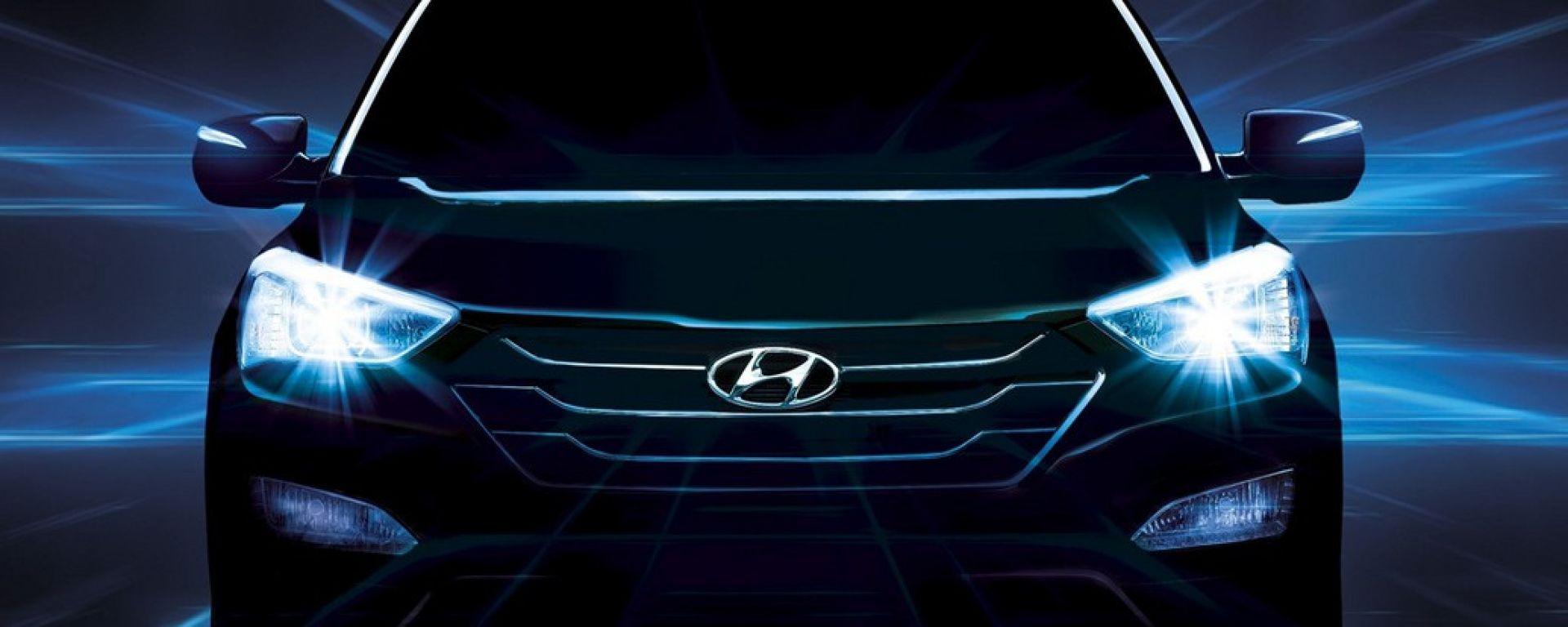 Hyundai Santa Fe 2013, le nuove foto