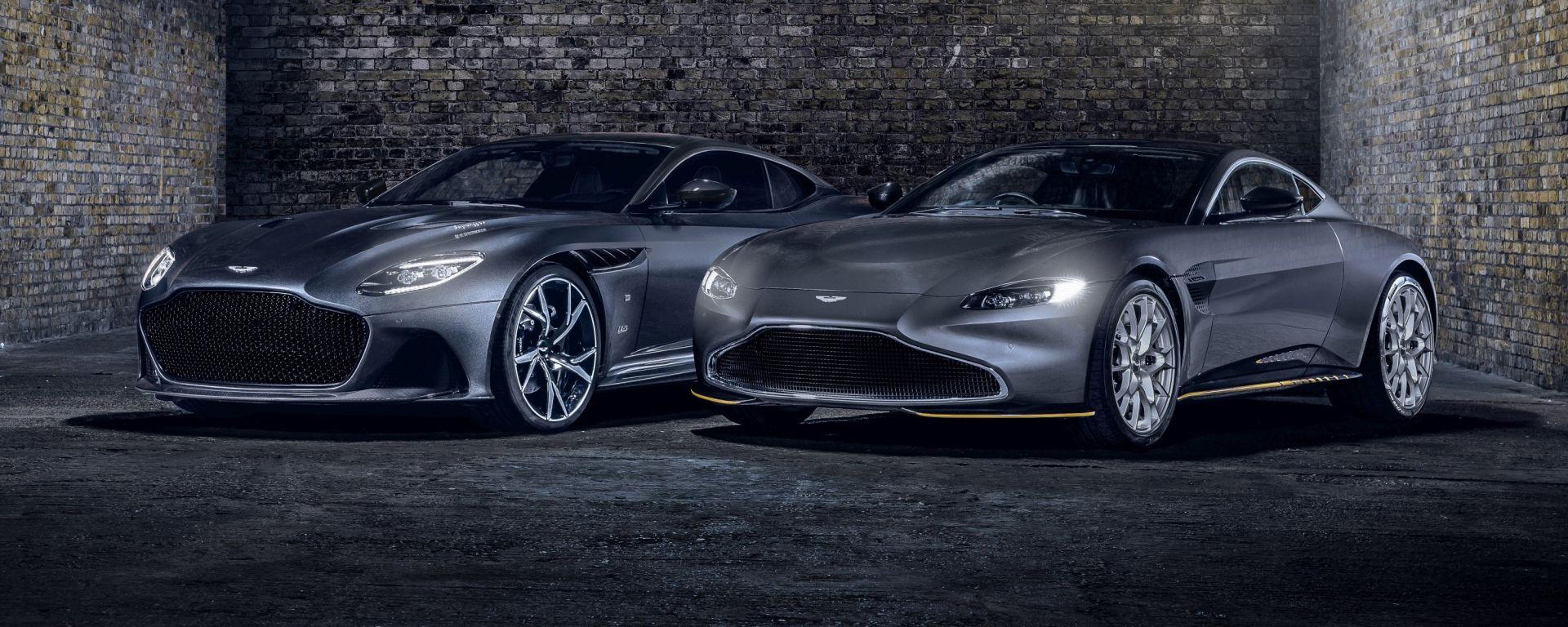 007: le Aston Martin ispirate al nuovo James Bond