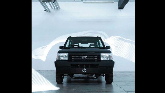 00Panda by Garage Italia: il frontale