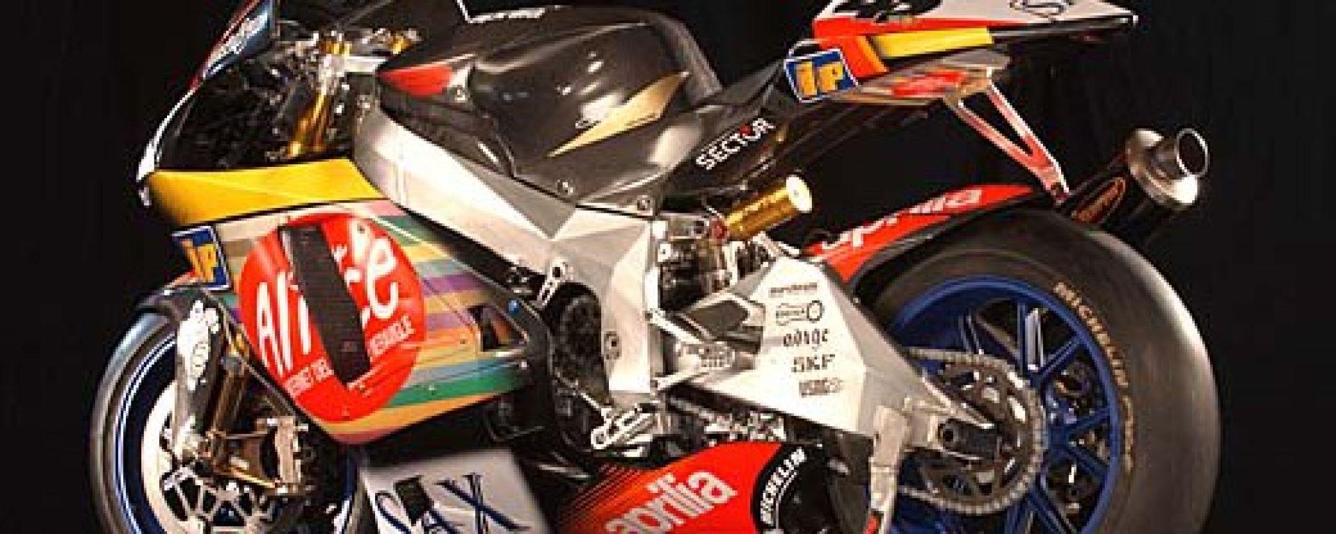 MotoGP 2003: al debutto l'Aprilia RS Cube