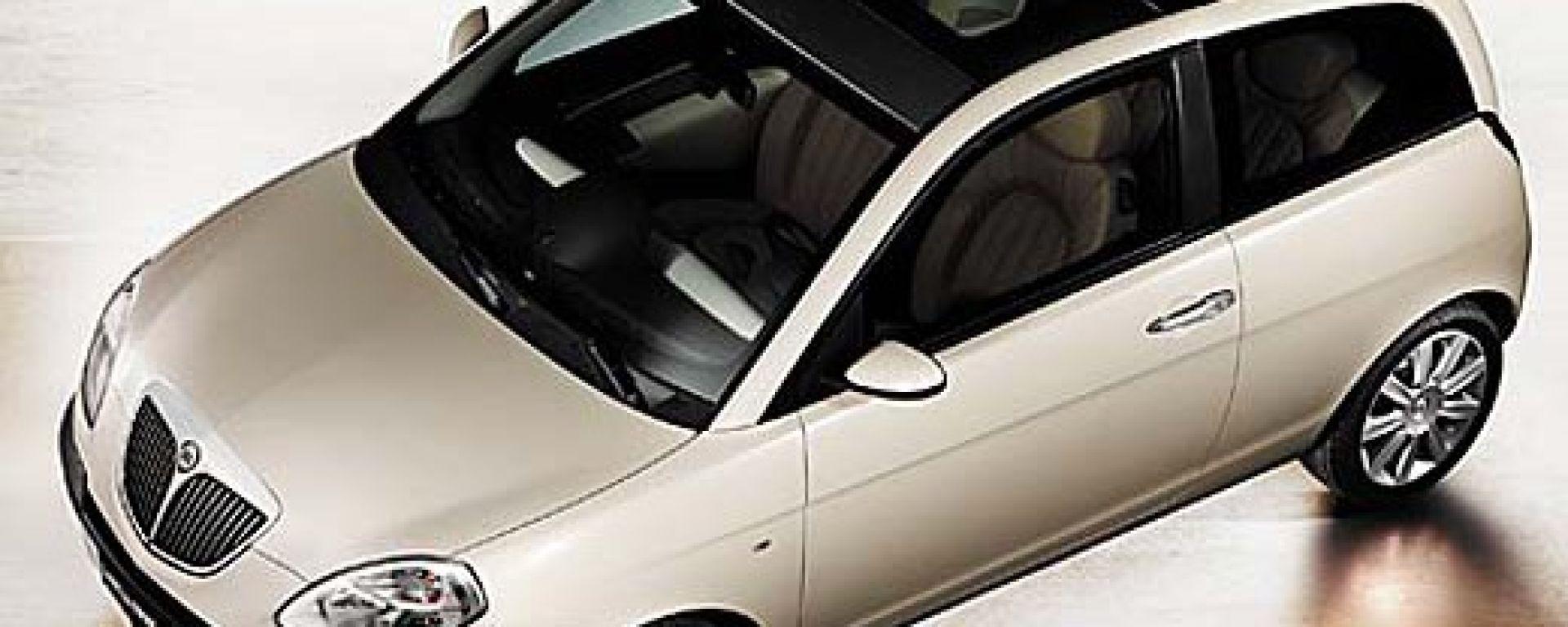 Le prime immagini della Lancia Ypsilon