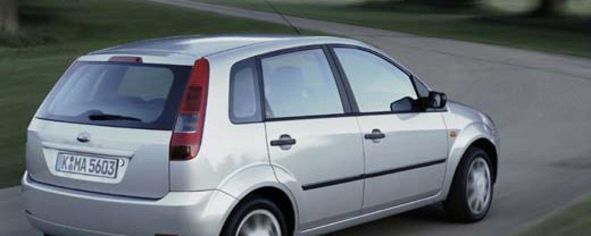 Ford Fiesta model year 2002