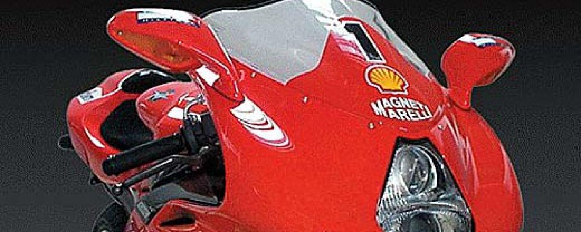 Una Ferrari a due ruote