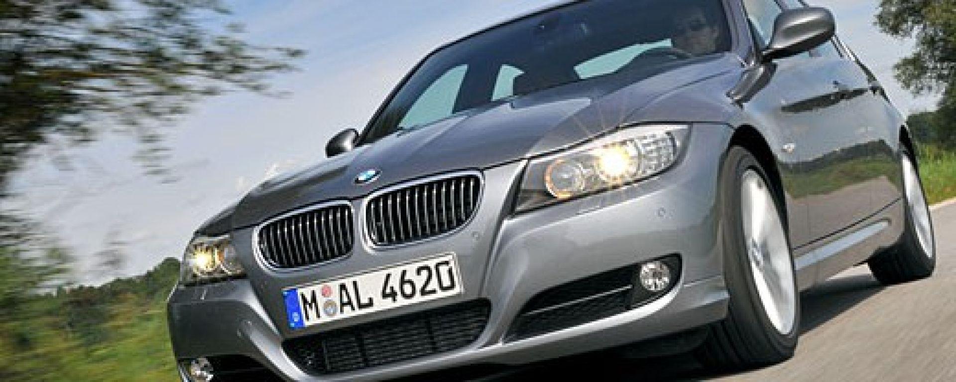 05-08 Limousine Touring Motorhaube BMW 3er E90 E91 Bj