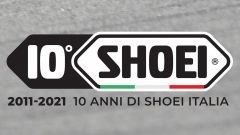 10 anni di Shoei Italia