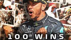 Hamilton a quota 100, il video tributo della Formula 1
