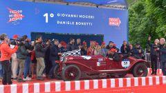 1000 Miglia: l'equipaggio 1° classificato nell'edizione 2019