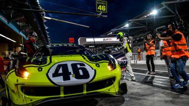 12 Ore del Golfo 2019, uno dei cambi pilota di Valentino Rossi