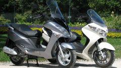 Suzuki Burgman 200 Vs Sym Joyride 200 Evo - Immagine: 28