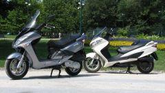 Suzuki Burgman 200 Vs Sym Joyride 200 Evo - Immagine: 30