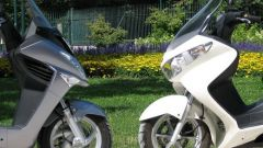 Suzuki Burgman 200 Vs Sym Joyride 200 Evo - Immagine: 33