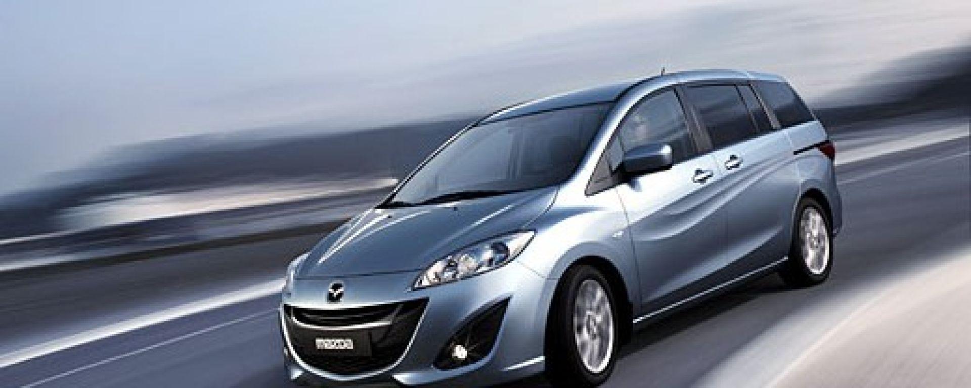La Mazda5 2010 in 60 nuove immagini