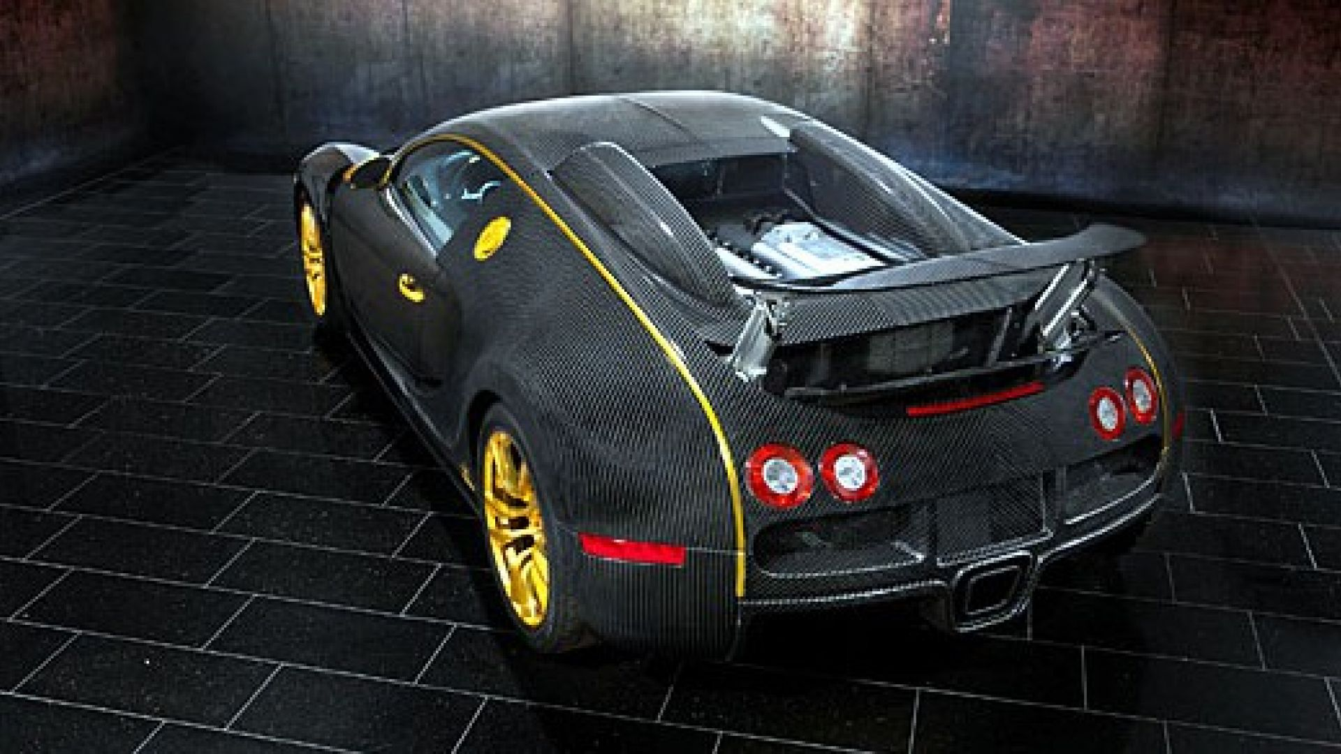 serie speciali bugatti veyron vincero d 39 oro by mansory. Black Bedroom Furniture Sets. Home Design Ideas