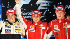 2008, il mondiale sfiorato per un punto - Felipe Massa