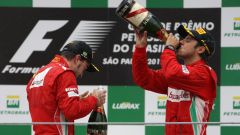 2012, in coppia con Alonso - Felipe Massa