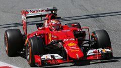 2015, Marciello alla guida della Ferrari nei rookie test di Formula 1