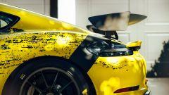 2019 Porsche 718 Cayman GT4 Clubsport: dettaglio del posteriore