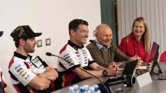 21° incontro tra LCR Honda e Givi a Brescia: Cal Crutchlow, Lucio Cecchinello e Giuseppe Visenzi