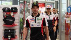 21° incontro tra LCR Honda e Givi a Brescia: Cal Crutchlow, Taka Nakagami