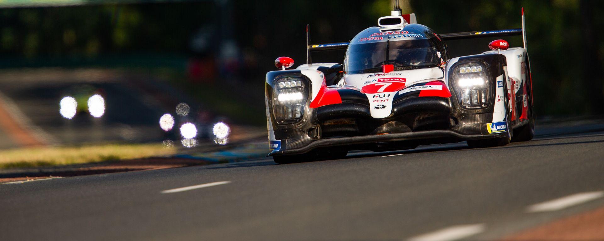24 Ore di Le Mans 2019: la Toyota LMP1 numero 7
