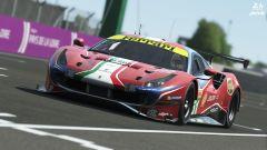 24 Ore di Le Mans virtuale 2020: la Ferrari 488 GTE del team AF Corse su rFactor 2