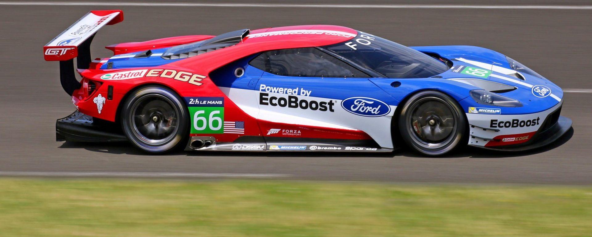 24 Ore Le Mans: Porsche in pole. Storica qualifica per Ford