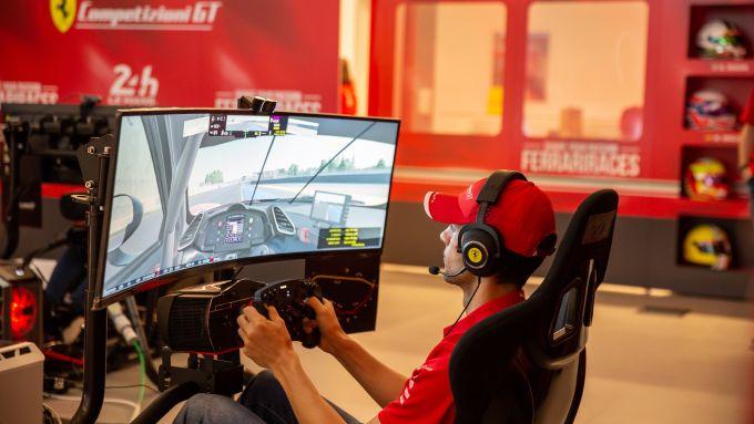 24 Ore Le Mans virtuale: Federico Leo al volante della sua Ferrari 488 GTE virtuale