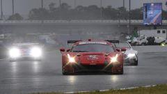 24h Daytona 2019, la Ferrari 488 del team Risi Competizioni, guidata da Calado, Rigon, Molina e Pierguidi