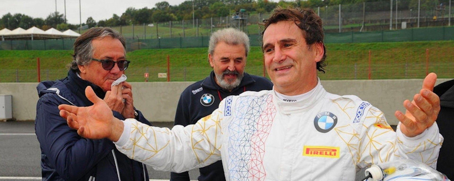 """24h Daytona: Zanardi ci pensa: """"potrei fare le curve con una mano sola"""""""