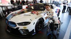 """24h Daytona: Zanardi ci pensa: """"potrei fare le curve con una mano sola"""" - Immagine: 2"""