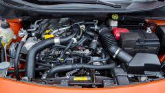 3 cilindri benzina 0.9 L turbo IGT (90CV) e 1.0 L aspirato (73 CV) / 4 cilindri diesel 1.5 L dCi (90CV)